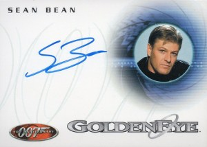 2002 Rittenhouse James Bond 40th Anniversary Expansion Autographs Sean Bean