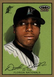 2003 Topps 205 300 Dontrelle Willis No Smile