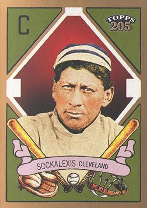 2003 Topps 205 Louis Sockalexis