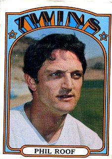 1972 Topps Baseball 201 Phil Roof