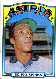 1972 Topps Baseball 202 Scipio Spinks
