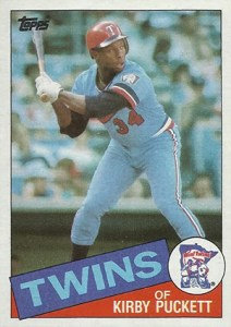 Topps All-Star Rookie Team - 1985 Topps Kirby Puckett
