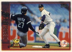 Topps All-Star Rookie Team - 1997 Topps Derek Jeter