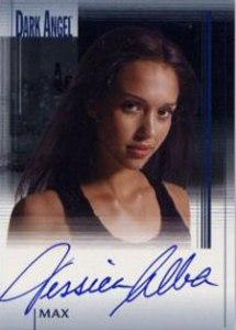 2002 Topps Dark Angel Autographs Jessica Alba