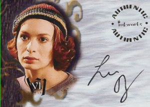 2003 Inkworks Buffy the Vampire Slayer Autographs A48 Felicia Day as Vi