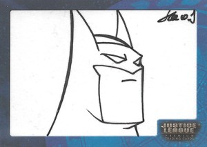 2003 Inkworks Justice League Sketch Card