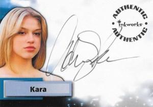2004 Inkworks Smallville Season 3 Autographs