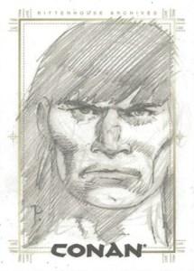 2004 Rittenhouse Conan Art of the Hyborian Age SketchaFEX