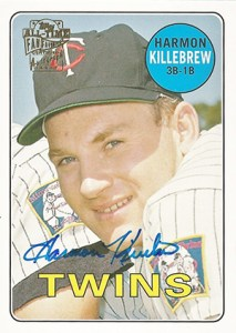 2004 Topps All-Time Fan Favorites Autographs Harmon Killebrew