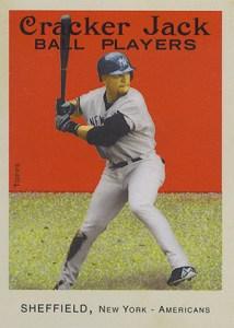 2004 Topps Cracker Jack 95 Gary Sheffield Yankees