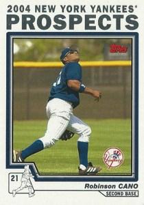 2004 Topps Yankees Factory Set Bonus Robinson Cano