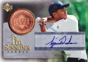 2004 Upper Deck Golf Penned Pin Seekers Tiger Woods