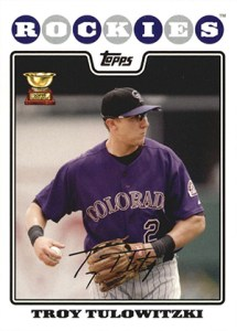 Topps All-Star Rookie Team - 2008 Topps Troy Tulowitzki