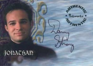 Buffy S4 Auto A19 Danny Strong as Jonathan