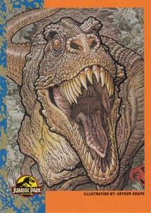 1993 Topps Jurassic Park Promo Arthur Adams