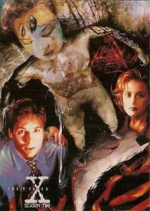 1996 Topps X-Files Season 2 Promo 0