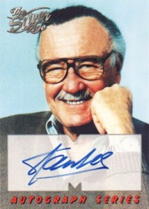 1998 SkyBox Marvel The Silver Age Autograph
