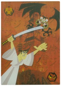 2002 Artbox Samauri Jack Binder Card