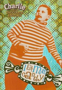 2005 Artbox Charlie and the Chocolate Factory Retail Foil