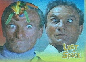 2005 Rittenhouse Complete Lost in Space Faces of Dr Smith