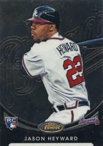 2010 Topps Finest Baseball Rookie Redemptions 1 Jason Heyward