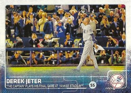2015 Topps 319 Derek Jeter