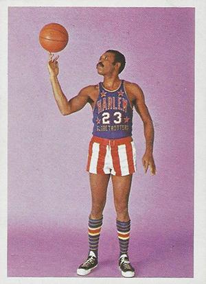 1971 Fleer Harlem Globetrotters 81