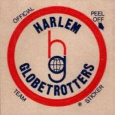1971 Fleer Harlem Globetrotters Team Emblem Sticker