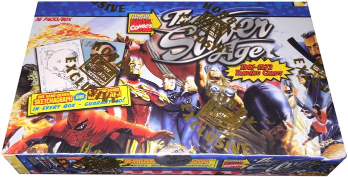1998 SkyBox Marvel The Silver Age Box