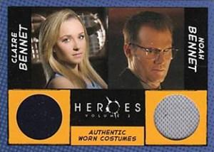 2008 Topps Heroes Volume 2 Dual Memorabilia