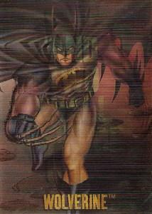 1995 Fleer SkyBox DC Versus Marvel Mirage Promo