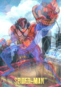 1995 Fleer SkyBox DC Versus Marvel Mirage
