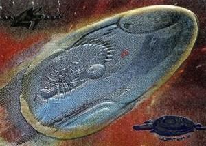 1998 Inkworks Lost in Space Movie Jupiter 2