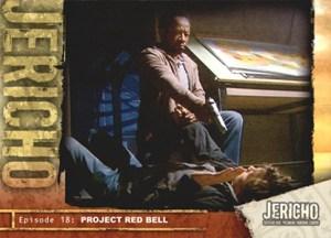 2007 Inkworks Jericho Season 1 Base