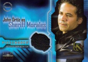 PW.3 Jacket worn by John Ortiz as Sheriff Morales