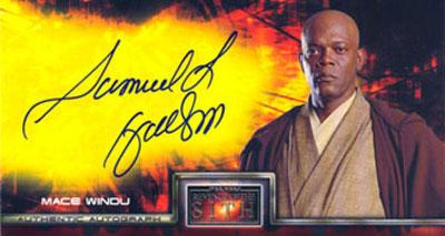 Samuel L. Jackson as Mace Windu