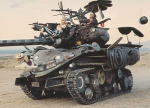 1995 Comic Images Tank Girl Promo