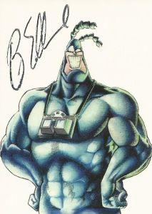 1997 Comic Images The Tick Ben Edlund Autograph