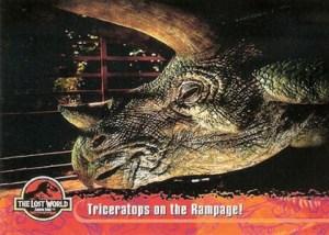 1997 Topps Jurassic Park The Lost World Base