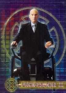 2000 Topps X-Men Movie Double-Sided Chromium