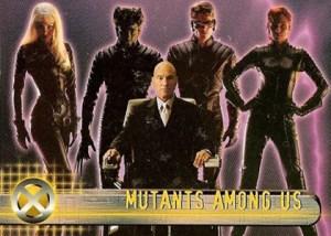 2000 Topps X-Men Movie Promo 0