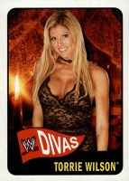 2005 Topps WWE Heritage Base Divas Torrie Wilson