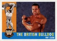 2005 Topps WWE Heritage Base Legend British Bulldog