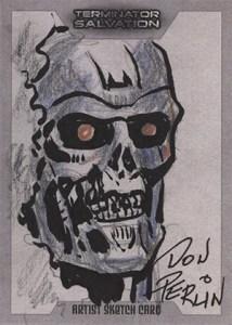 2009 Topps Terminator Salvation Sketch Card