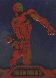 2010 Upper Deck Iron Man 2 Armored