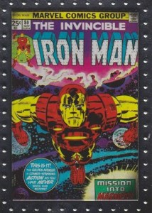 2010 Upper Deck Iron Man 2 Comic Covers