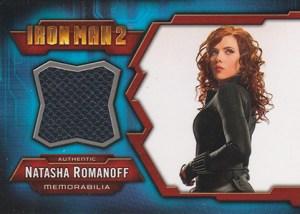 2010 Upper Deck Iron Man 2 Memorabilia Cards IMC-3 Scarlett Johansson as Natasha Romanoff