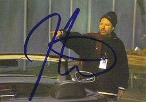 Terminator 3 Autographs A4 Jonathan Mostow - Director