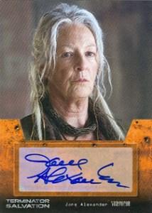 Terminator Salvation Autograph Jane Alexander as Virginia