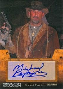 Terminator Salvation Autograph Michael Papajohn as Carnahan